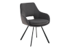 Black Upholstered Chair product photo other01 S