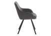 Black Upholstered Chair product photo other02 S