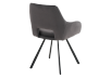 Black Upholstered Chair product photo other03 S