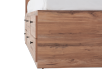 Brown Twin Kid Drawer and Storage Bed product photo other05 S