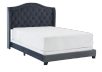Dark Grey Upholstered - Queen Bed product photo other01 S