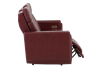 Red Reclining and Battery Motorized Sofa with Genuine Leather Seats - ELRAN product photo other03 S