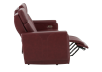 Red Reclining and Battery Motorized Sofa with Genuine Leather Seats - ELRAN product photo other04 S