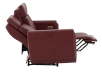 Red Reclining and Battery Motorized Sofa with Genuine Leather Seats - ELRAN product photo other05 S