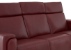 Red Reclining and Battery Motorized Sofa with Genuine Leather Seats - ELRAN product photo other06 S