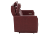 Red Reclining and Battery Motorized Sofa with Genuine Leather Seats - ELRAN product photo other10 S