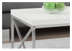 White Coffee Table with Metal Legs product photo other01 S