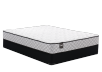 "Sealy Quartz blanc - 9"" King Mattress and Box Spring product photo"