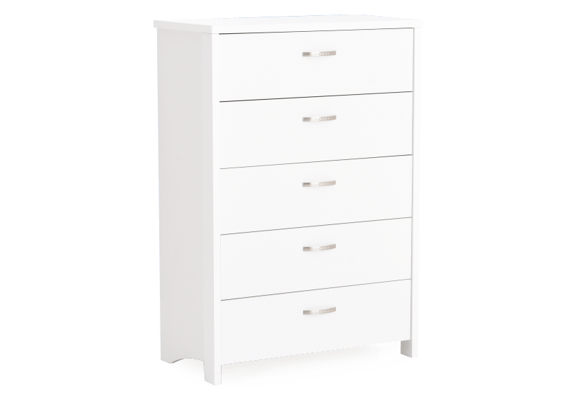 Commode 5 tiroirs blanche photo du produit other01 L