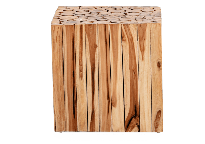 Table d'appoint en bois photo du produit
