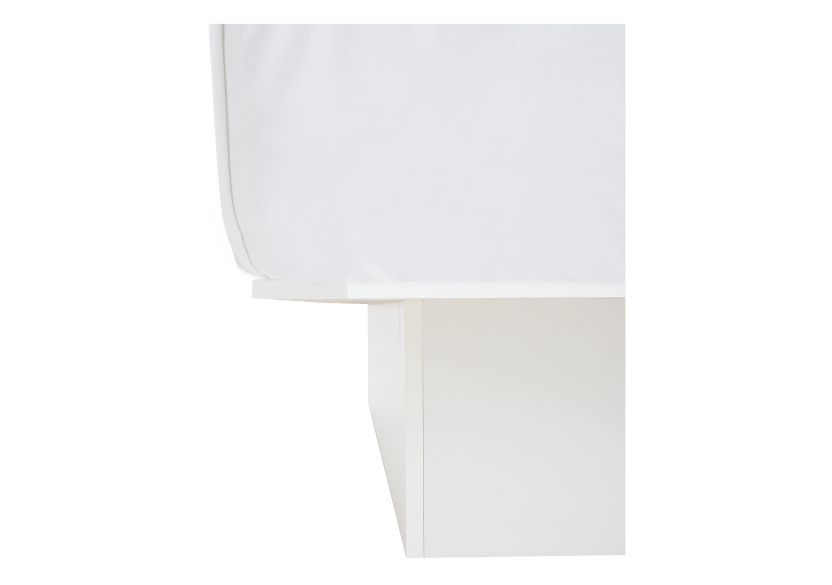 Lit plateforme blanc 1 place Twin photo du produit other03 L