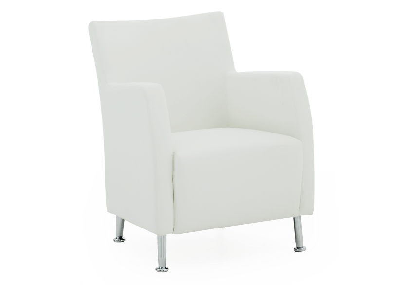 Fauteuil d'appoint blanc photo du produit other01 L