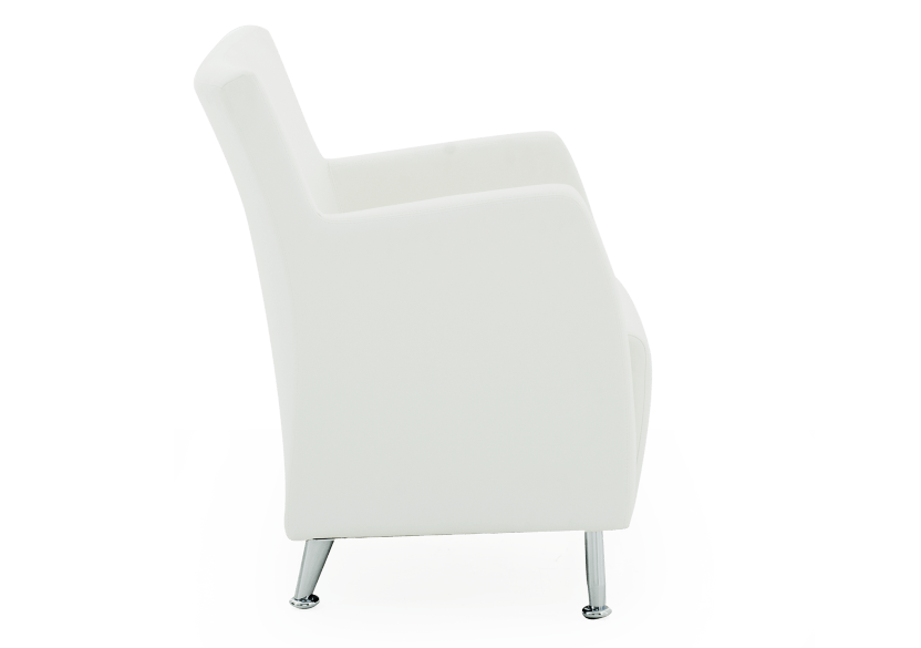 Fauteuil d'appoint blanc photo du produit other02 L