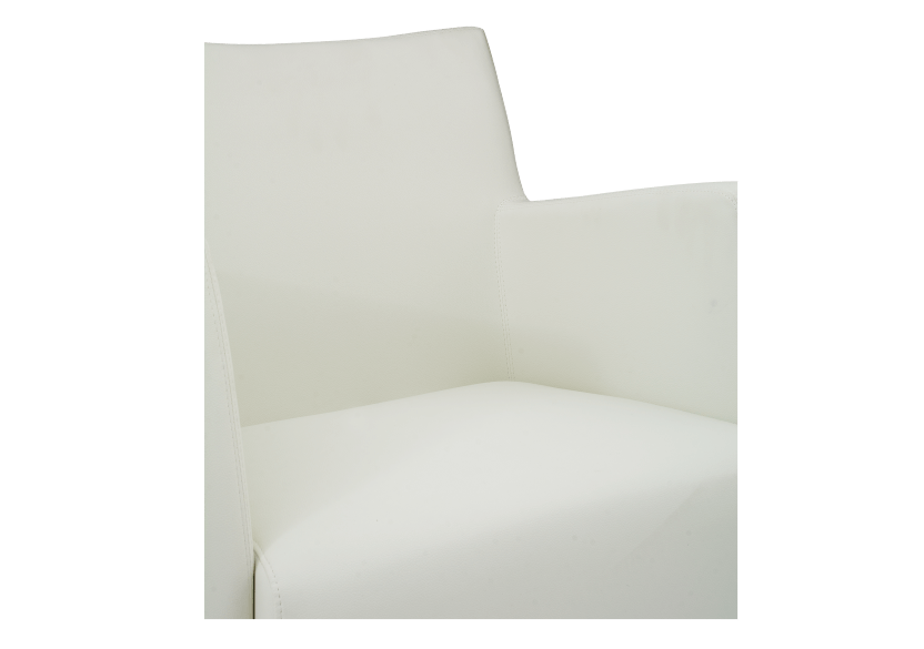 Fauteuil d'appoint blanc photo du produit other03 L