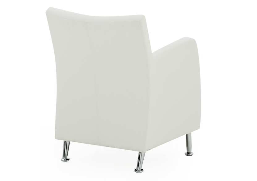 Fauteuil d'appoint blanc photo du produit other05 L