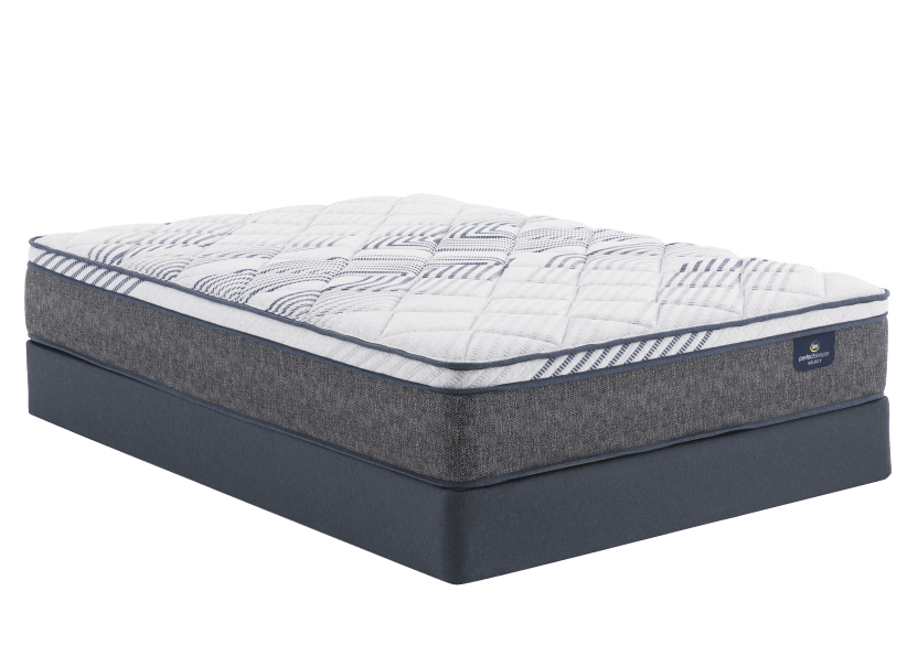 "Matelas et sommier 5,5"" Messina II ET - 1 place XL Twin - Serta photo du produit Front View L"