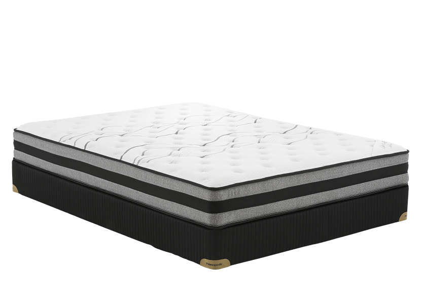"Matelas et sommier 5"" Saba - Très grand lit King - Collection BM photo du produit Front View L"