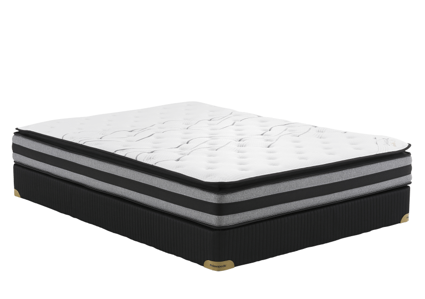 "Matelas et sommier 3"" St-Kitts - 2 places Double - Collection BM photo du produit Front View L"