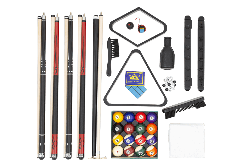 Ensemble d'accessoires de billard - Master Speed photo du produit Front View L