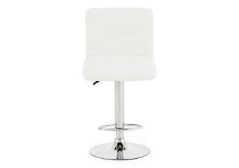 Tabouret ajustable blanc photo du produit