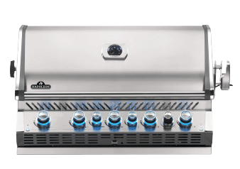 Barbecue encastrable Prestige - Napoleon - BIPRO665RBPSS-3 photo du produit