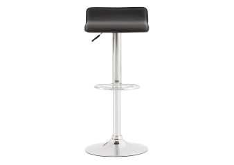 Tabouret ajustable noir photo du produit