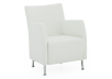 Fauteuil d'appoint blanc photo du produit other01 S