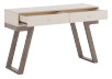 Table console en bois brun et ivoire photo du produit other02 S