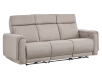 Divan inclinable et motorisé en tissu beige - ELRAN photo du produit other01 S