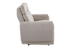 Divan inclinable et motorisé en tissu beige - ELRAN photo du produit other02 S