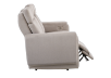 Divan inclinable et motorisé en tissu beige - ELRAN photo du produit other03 S