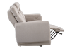 Divan inclinable et motorisé en tissu beige - ELRAN photo du produit other04 S