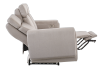 Divan inclinable et motorisé en tissu beige - ELRAN photo du produit other05 S