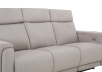 Divan inclinable et motorisé en tissu beige - ELRAN photo du produit other06 S