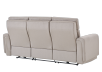 Divan inclinable et motorisé en tissu beige - ELRAN photo du produit other08 S