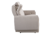 Divan inclinable et motorisé en tissu beige - ELRAN photo du produit other10 S